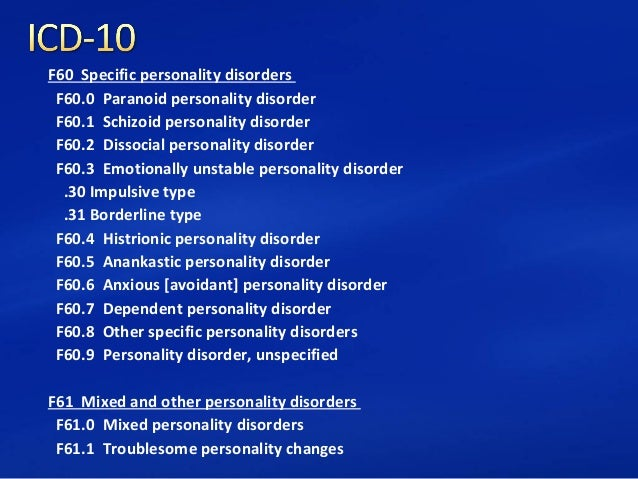 the controversy of the classification of personality disorder Learn about dissociative identity disorder, a rare and controversial psychiatric disorder, including how its diagnosed and distinct from bpd.