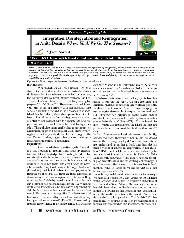 4 International Indexed & Refereed Research Journal, ISSN 0974-2832, (Print), E- ISSN- 2320-5474, Aug-Oct, 2013 ( Combind ...