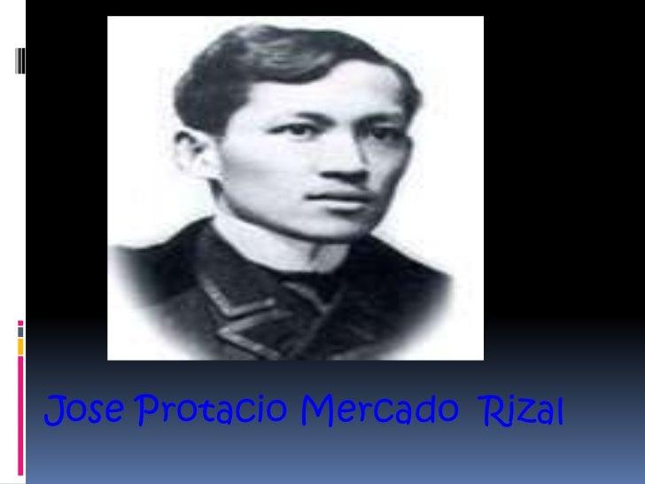 Jose Protacio Mercado Rizal