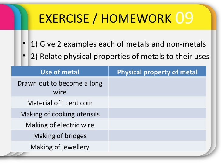 Non Example Of A Physical Property