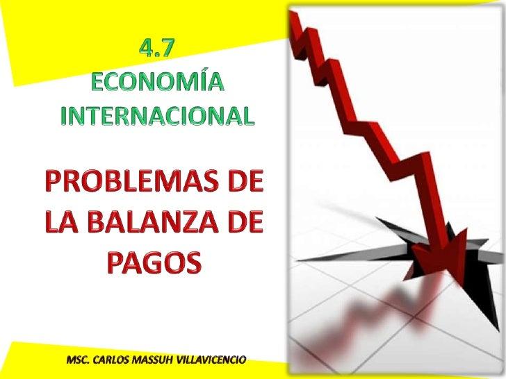 • Consecuencias de un déficit o un superávit de   cuenta corriente • Métodos de corrección:     • La condición de Marshall...