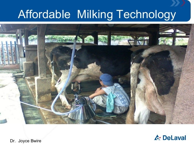 Affordable Milking Technology  Dr. Joyce Bwire