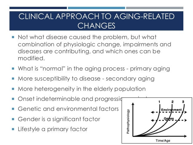 changes in aging The fat content of cells changes as they age, new research shows aging also  appears to alter how cells produce and break down fat and other.
