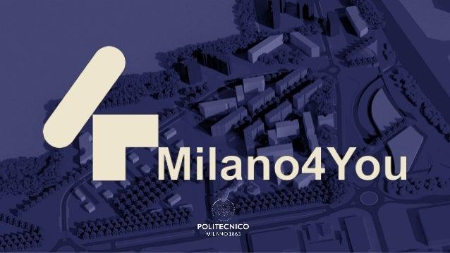 MILANO4YOU:CONCEPT ENERGETICONiccolò Aste