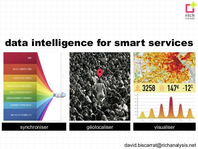 data intelligence for smart services  synchroniser   géolocaliser                visualiser                               ...