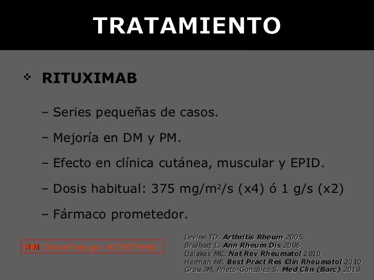 DURACIÓN DELTRATAMIENTO INMUNOSUPRESOR      EN LAS MIOSITIS    II Reunión en Enfermedades      Autoinmunes Sistémicas     ...