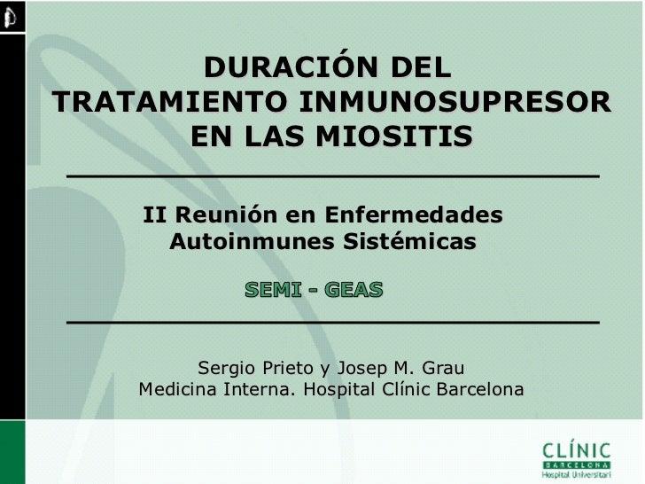 MIOSITIS     DISTRIBUCIÓN SEGÚN TIPO9080706050                              DM40                              PM30        ...