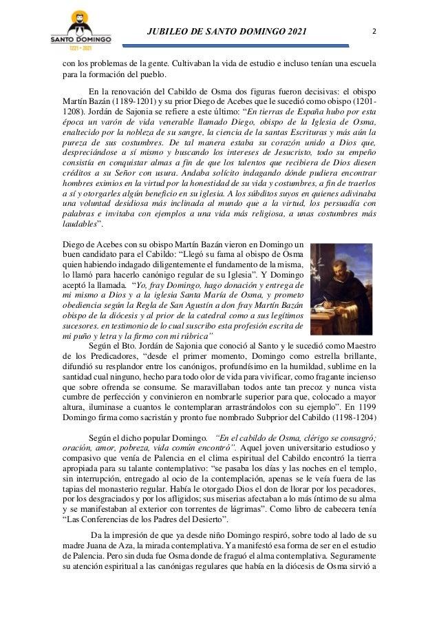 Burgo de Osma. En la reforma de la Iglesia (Tras los pasos de Santo Domingo de Guzmán Nº 4) Slide 2