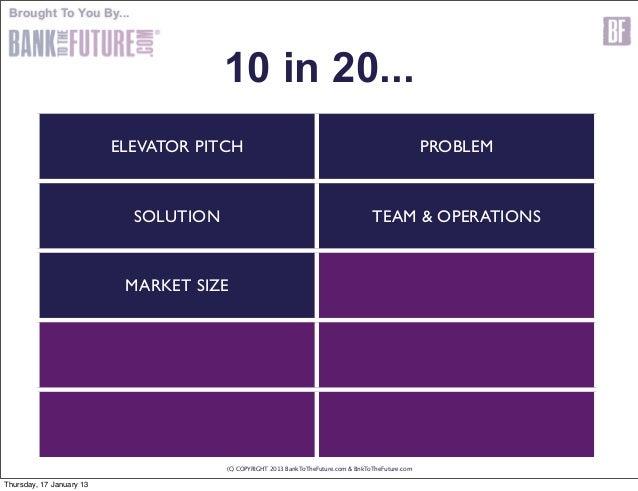 Business plan investors