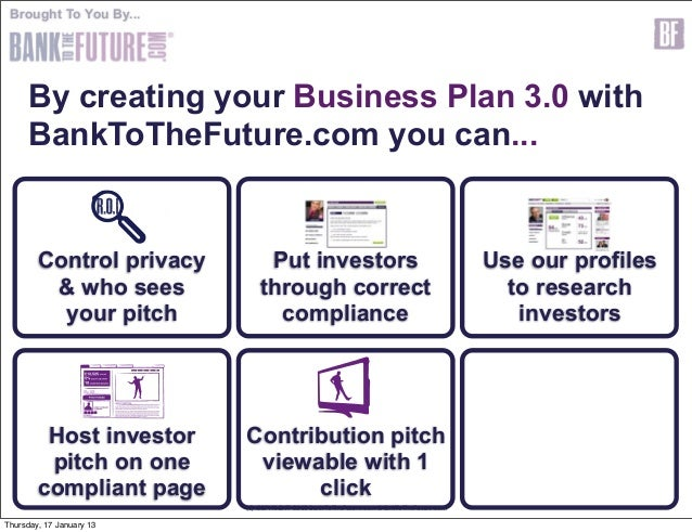 Business Plan Template For Investors Business Plans - Business plan for investors template