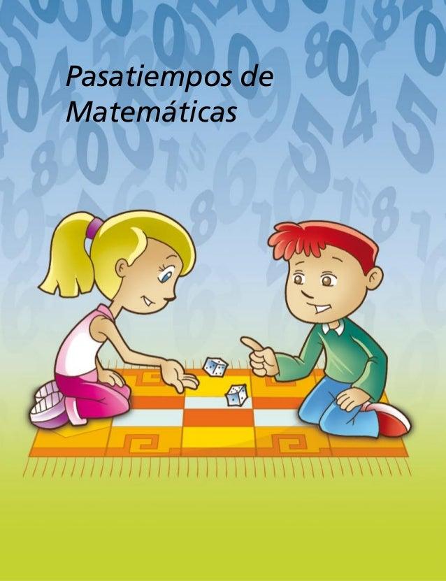 Pasatiempos de Matemáticas