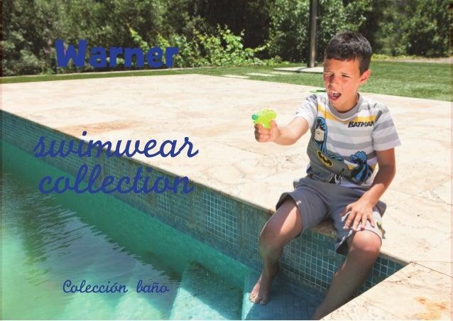 Warner 4  swimwear collection Coleccion bano  5
