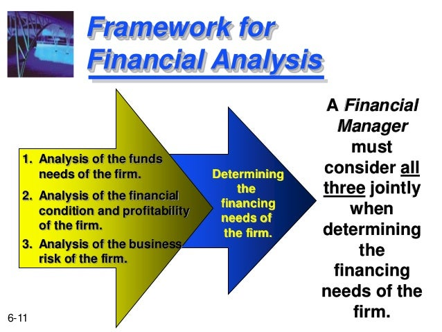 ... 11. Framework For Financial Analysis ...