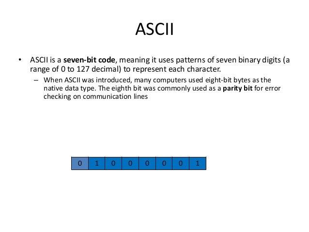 4 character encoding-ascii Slide 2