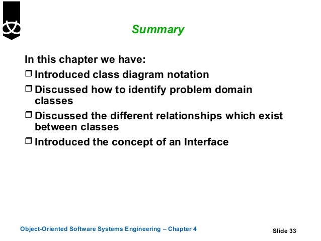 4 class diagrams using uml 33 summary in this chapter we have introduced class diagram notation ccuart Image collections