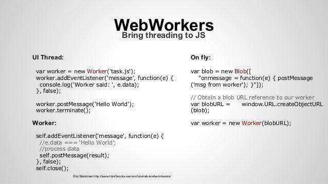 Web Performance Part 4