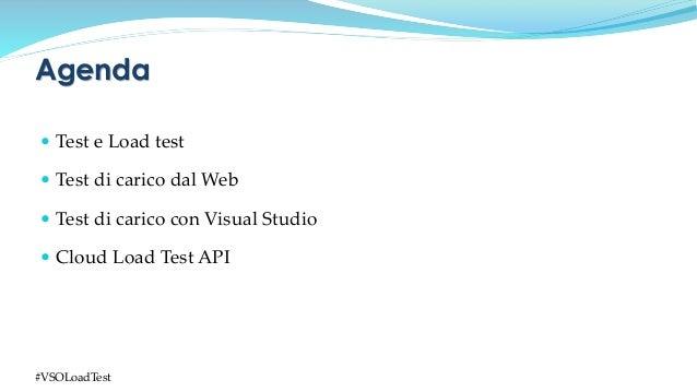 Cloud Load Testing con Visual Studio Online Slide 3