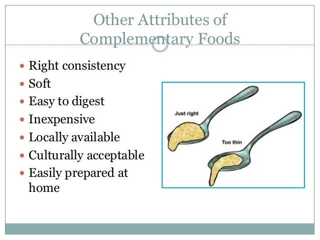 4 Complementary Feeding