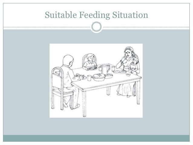 Suitable Feeding Situation