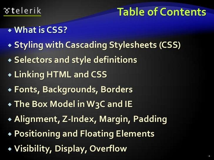 CSS Slide 2