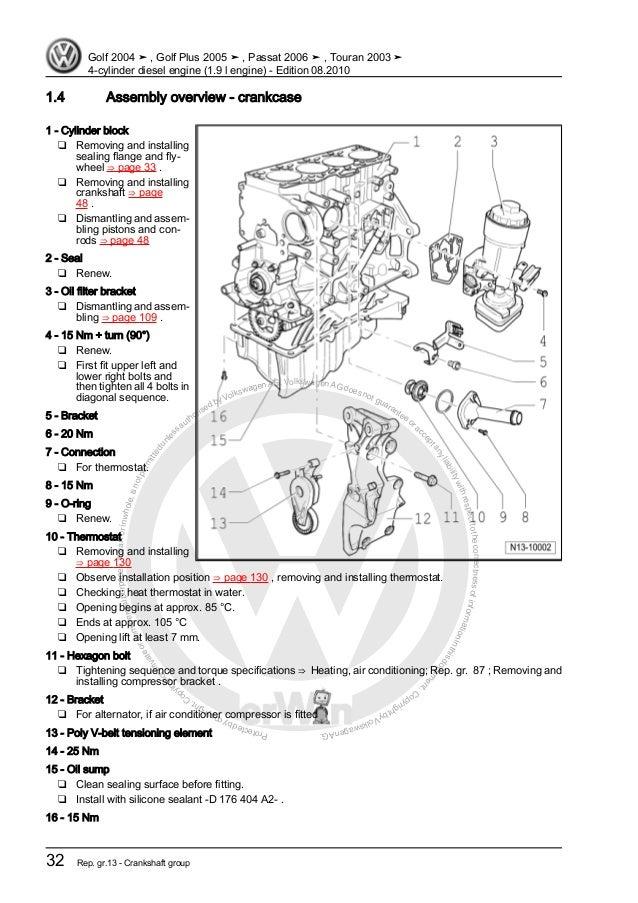 4 cylinder diesel engine (1 9 l engine) vw aircraft wiring diagram 19 tdi engine diagram #6