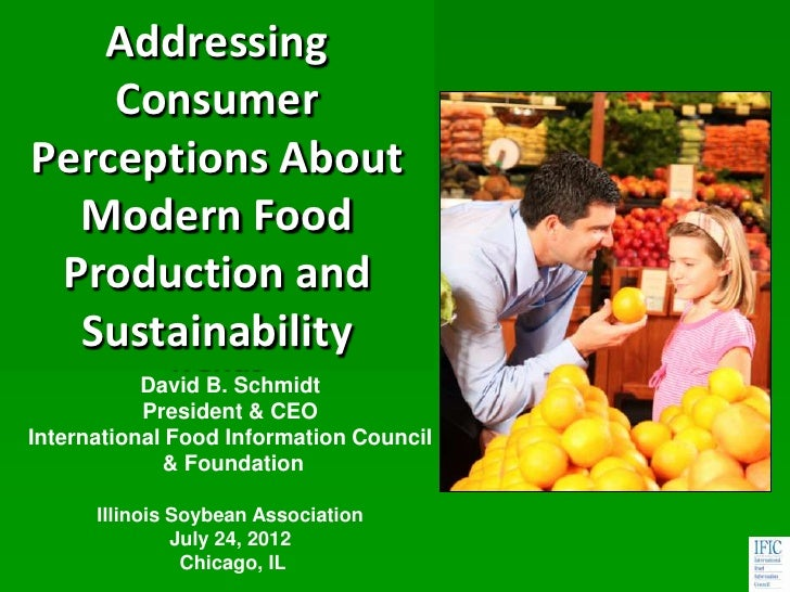 Addressing     ConsumerPerceptions About   Modern Food  Production andA Study of US Consumer   Sustainability        Trend...