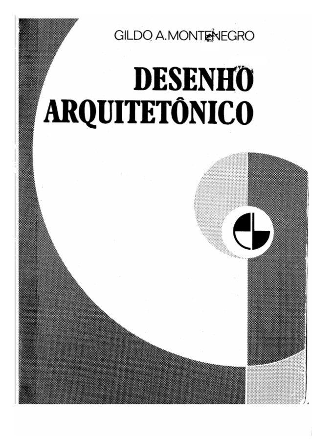 Desenho arquitetônico - Gildo Montenegro