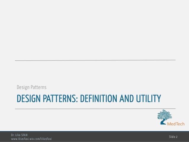 Software Engineering - chp4- design patterns Slide 2