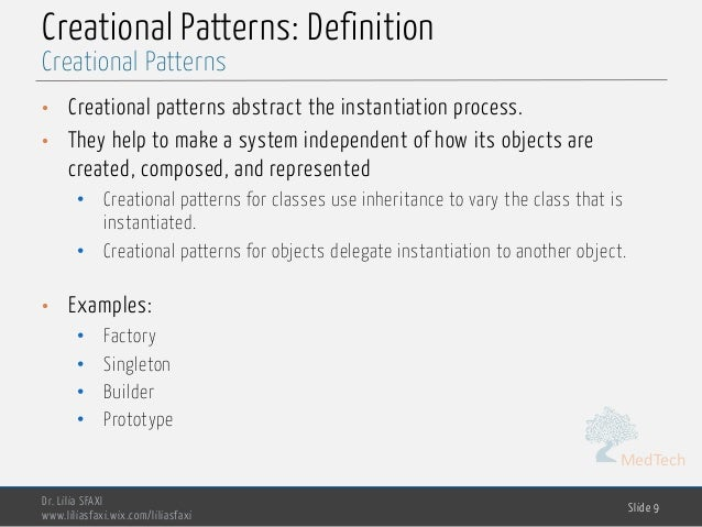 Software Engineering Chp60 Design Patterns Beauteous Patterns Definition
