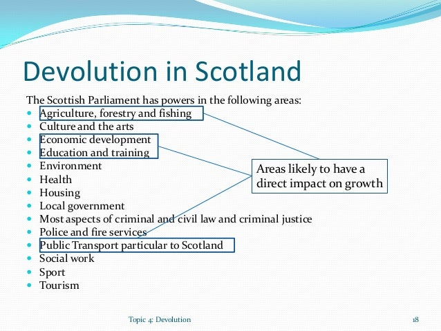 Devolution in the United Kingdom