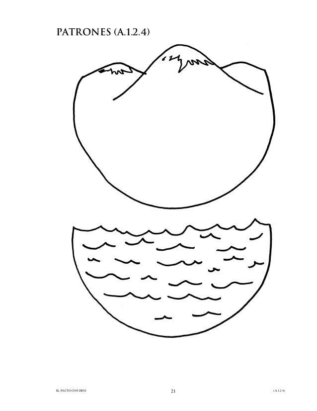 4. dios hizo la tierra y el mar