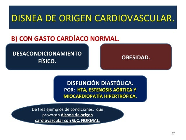 Disnea respiratoria y cardiaca pdf