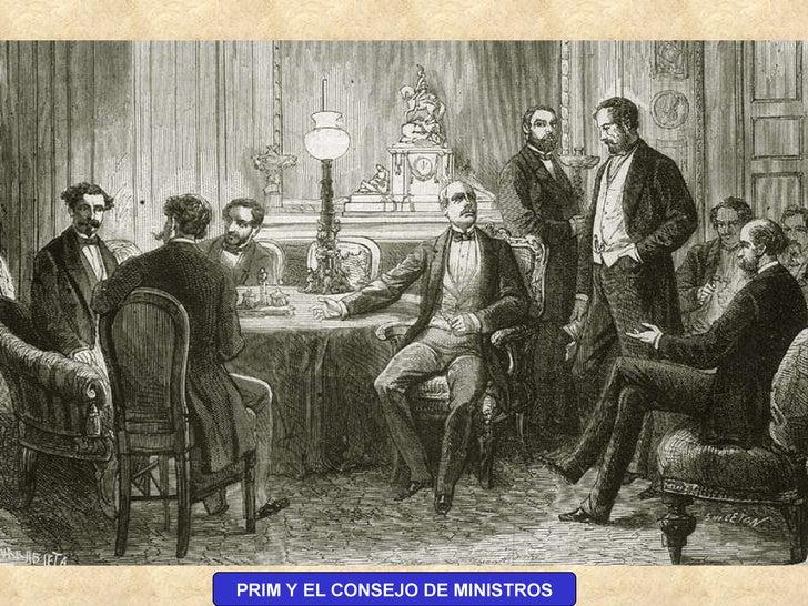 PRIM Y EL CONSEJO DE MINISTROS