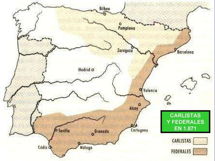 CARLISTAS Y FEDERALES EN 1.871