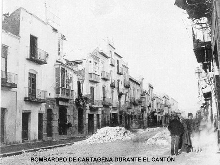 BOMBARDEO DE CARTAGENA DURANTE EL CANTÓN