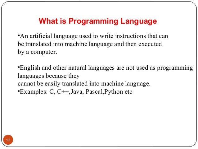 4 Evolution Of Programming Languages