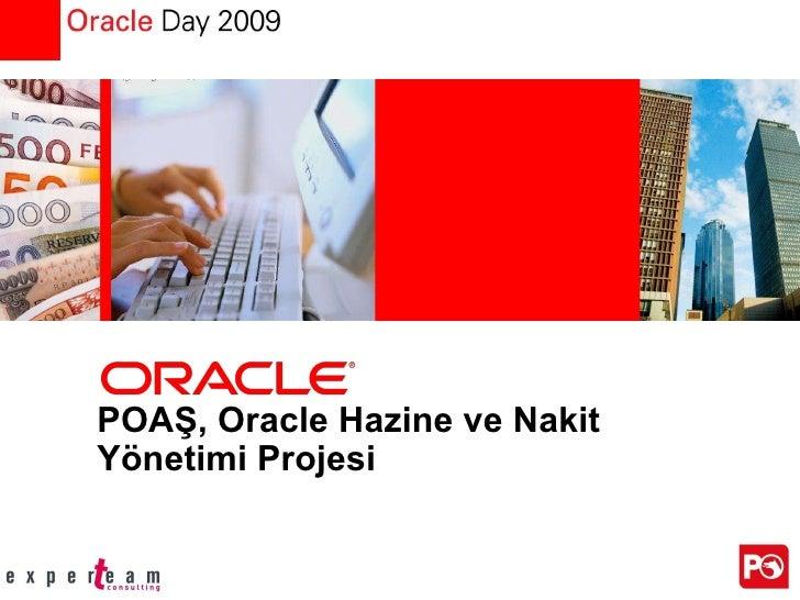 POAŞ, Oracle Hazine ve Nakit Yönetimi Projesi