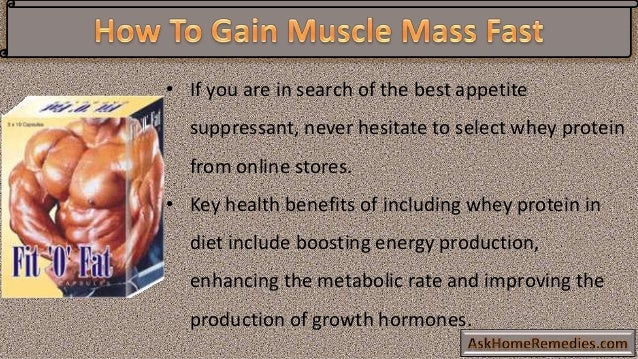 how to grow muscle mass fast