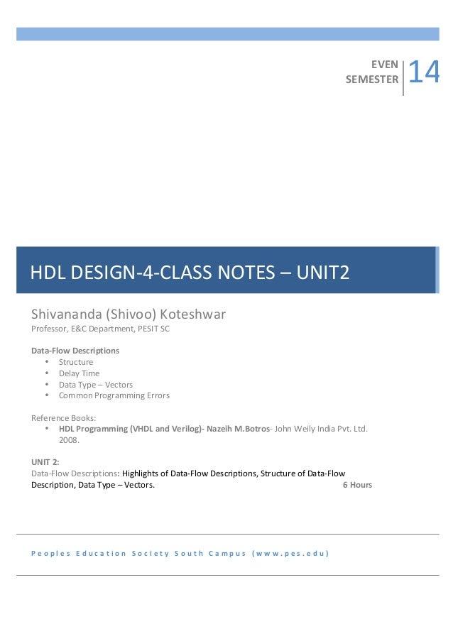 HDL PROGRAMMING BY BOTROS PDF