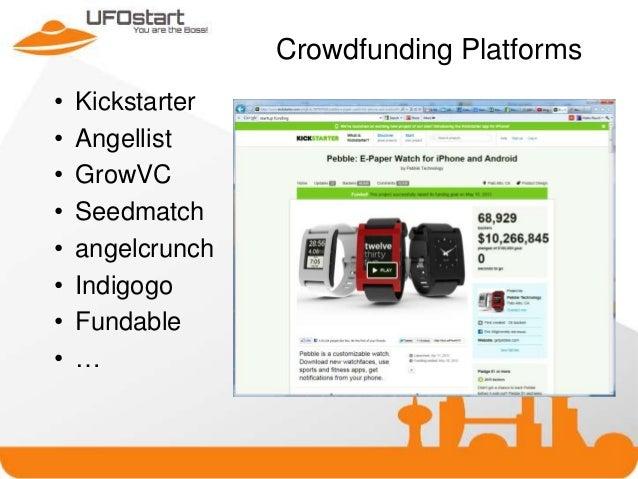 StartUp needs on UFOstart