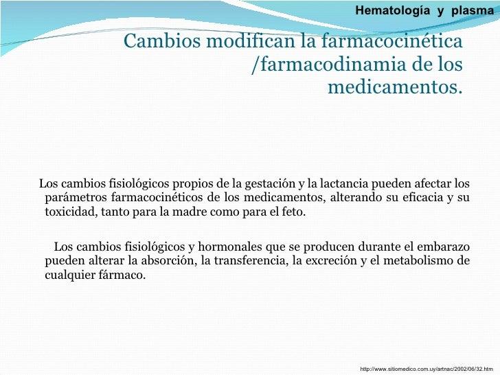 Cambios modifican la farmacocinética /farmacodinamia de los medicamentos. <ul><li>Los cambios fisiológicos propios de la g...