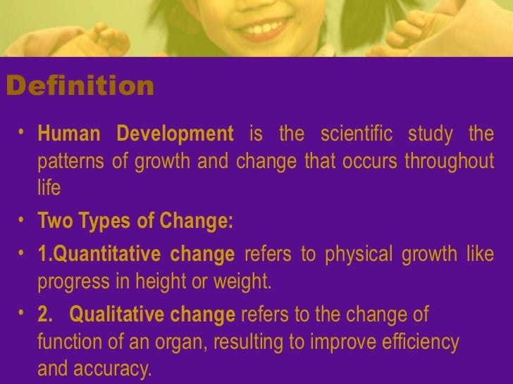 an analysis of the human growth and development Human growth and development is one part of the district's health curriculum  stoughton's human growth and development curriculum is based on abstinence .