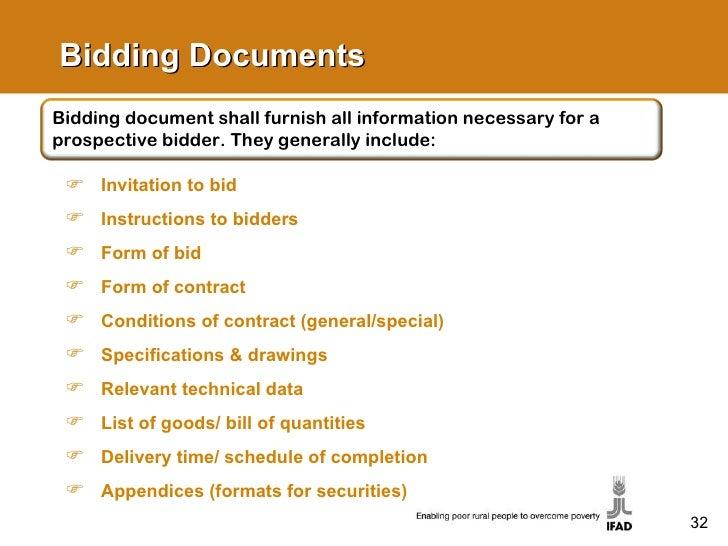 IFAD's Procurement Guidelines