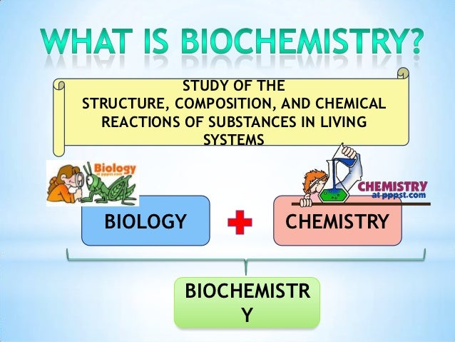 why is chemistry important in the study of biology