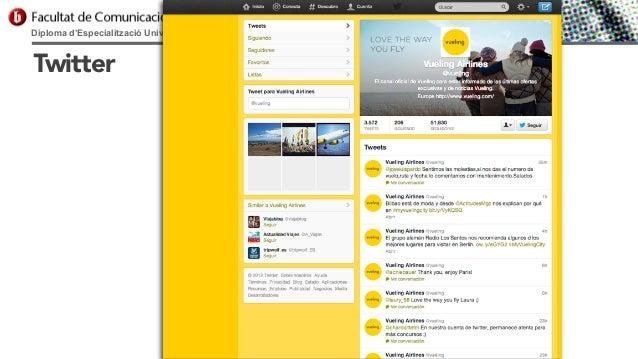 Diploma d'Especialització Universitària en Comunicació Digital  Twitter
