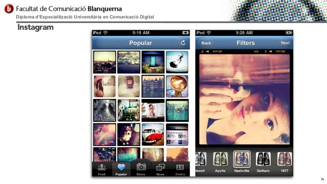Diploma d'Especialització Universitària en Comunicació Digital  Instagram  76
