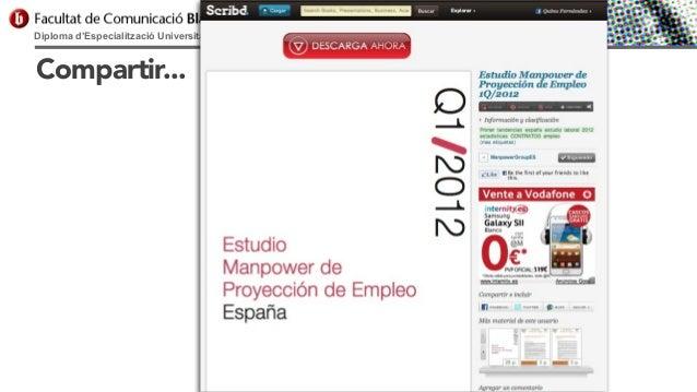 Diploma d'Especialització Universitària en Comunicació Digital  Compartir...