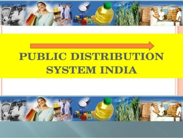  PDS means distribution of essential commodities to a large no of people through a network of FPS (fair price shop) on a ...