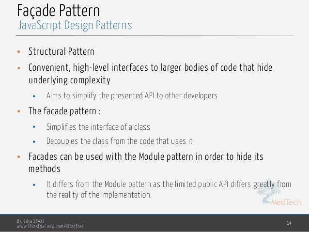 Javascript Design Patterns Beauteous Javascript Design Patterns