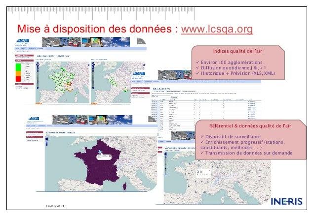 GREEN DATA 15 janv 2013 - INERIS  Slide 3